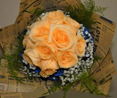 Ramo de rosas, vista vertical