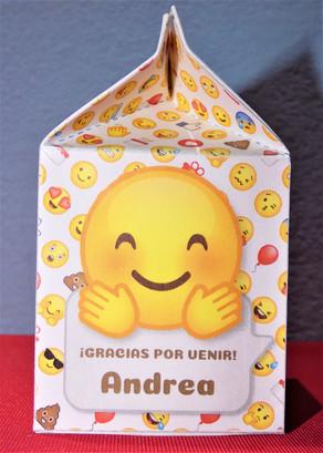 Souvenirs de cumpleaños - Emoji