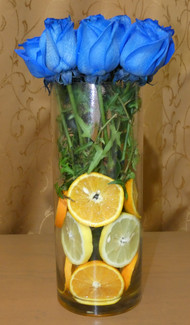Bouquet con naranja y limón