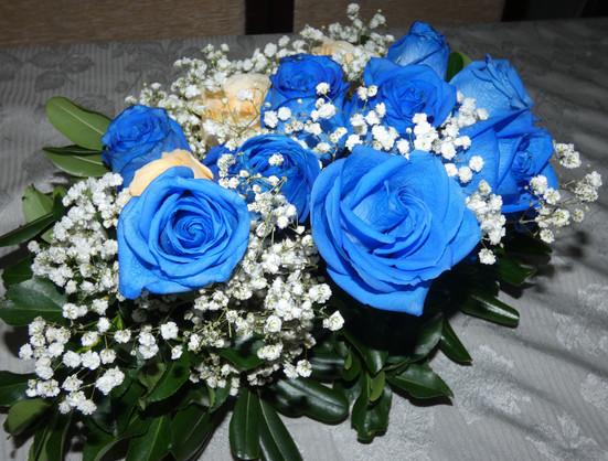 Bouquet de rosas e ilusión