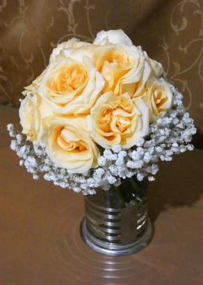 Bouquet rosas e ilusión