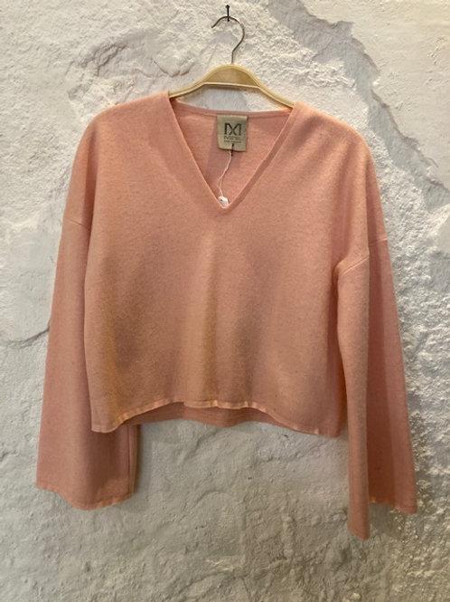 Roze wollen Sweater