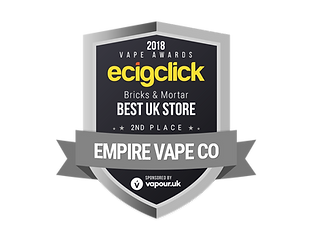 EMPIRE VAPE CO-ecigclick-awards-2018-2nd