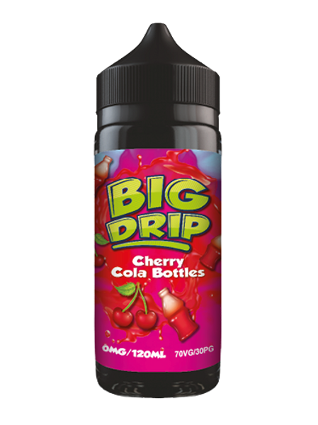 Big Drip Cherry Cola Bottles