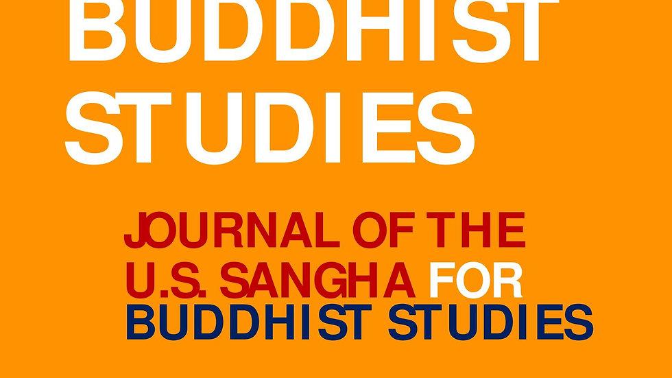 Purchase - Journal of Buddhist Studies (JBS)