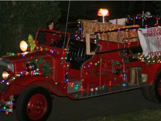 Guilford Firefighters Annual Christmas Delivery