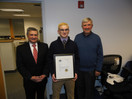 Guilford Citizen Presented With Certificate Of Commendation