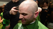 Members of Local 4177 shave their heads for a great cause.
