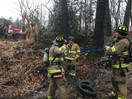 Guilford Firefighters Respond To Essex For Propane Emergency