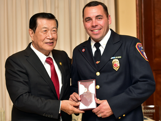 Guilford Firefighters Receive Shoreline Heroes Awards