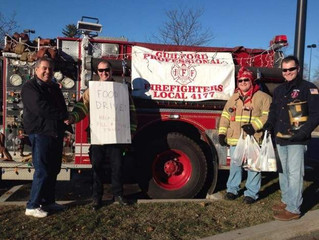 Guilford Professional Firefighters Give Back To The Community
