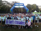 Guilford Firefighters Ride For Cancer Research