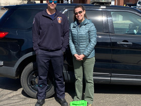 Fire Department Assists With Homebound Vaccinations