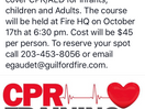 Want To Become CPR Certified?