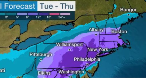 Winter Storm Gail Forecast To Hit This Week