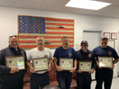 Guilford Firefighters Receive Certificates of Commendations