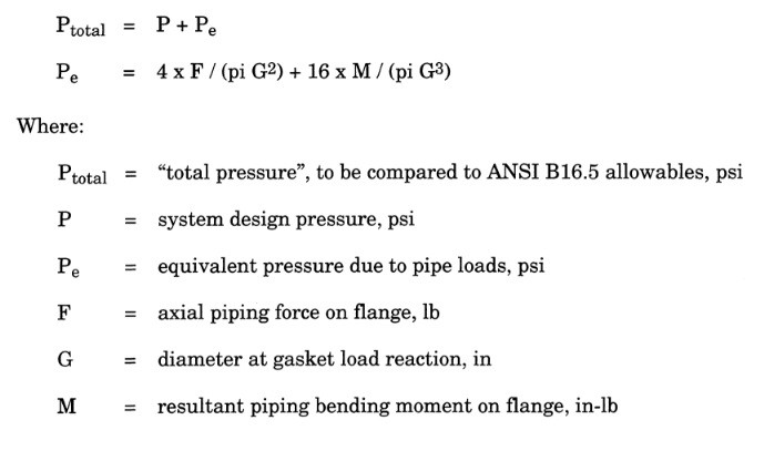 flange Equivalent Pressure Calculation in caesar ii by meena rezkallah, p.eng., the best piping stress engineer & professional engineer in calgary alberta canada. pipe stress analysis services. meena development ltd. engineering company. engineering firm