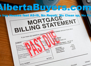 Defaulting on Mortgages, Loans by Alberta Buyers
