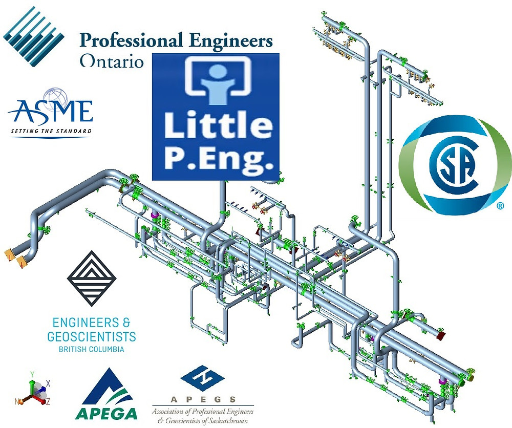 Pipe Stress Analysis Right Approach. CAESAR II Pipe Stress Analysis Services by Expert Canadian Professional Pipeline & Piping Engineers. professional engineers in Alberta, Saskatchewan, British Columbia, & Ontario.