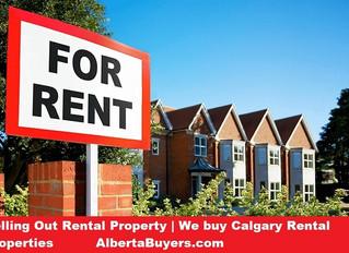 Selling Out Rental Property | We buy Calgary Rental Properties