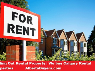 Selling Out Rental Property | We buy Calgary Rental Properties