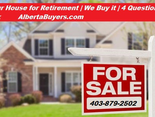 Selling Your House for Retirement | We Buy it | 4 Questions You Should Ask