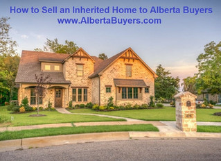 How to Sell an Inherited Home to Alberta Buyers