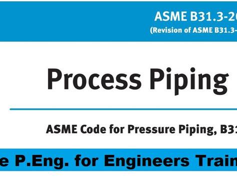 ASME B31.3 Limitations on Bolting