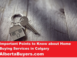 Important Points to Know about Home Buying Services in Calgary
