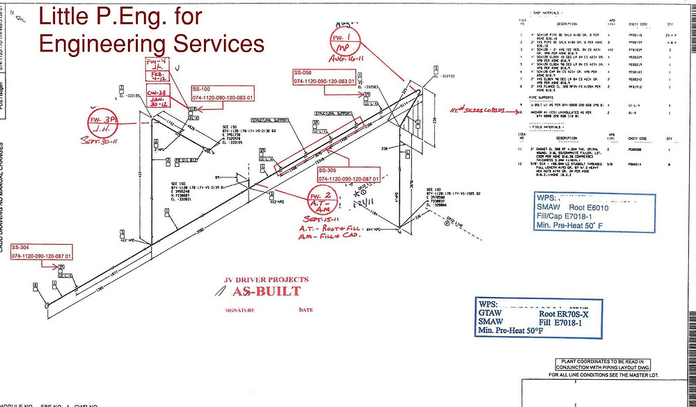 CAESAR II Pipe Stress Analysis Consulting Engineers by meena rezkallah, p.eng., the best piping stress engineer & professional engineer in calgary alberta canada.  pipe stress analysis services