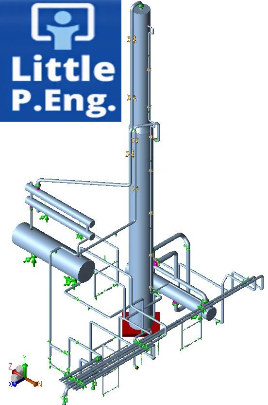 CAESAR II piping stress analysis Services across Canada. By Meena Rezkallah, P.Eng. the best professional piping stress engineer using caesar ii and stamp piping packages across calgary alberta canada