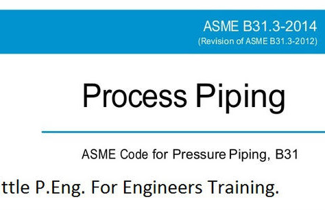 ASME B31.3 Design Pressure