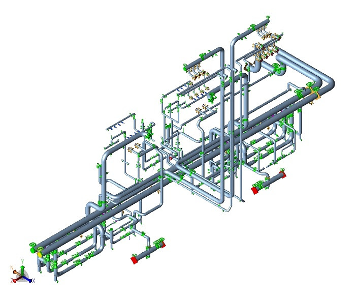 Outsource your Piping Stress Analysis, Piping Engineering design Services, Piping 3D Modeling, Piping GA design & Isometric drawings from Little P.Eng. for Engineering Services and save on your project design cost.