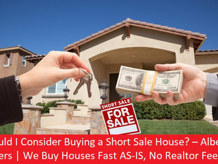 Should I Consider Buying a Short Sale House? – Alberta Buyers