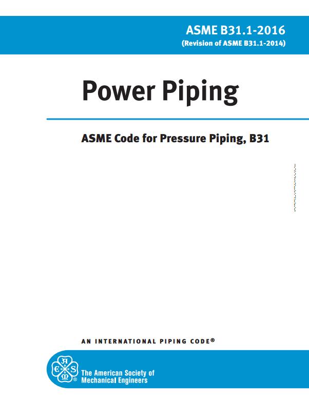 ASME B31.1