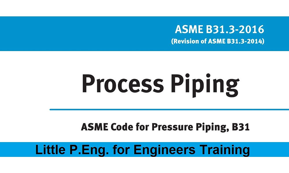 Process Piping ASME B31.3 2016