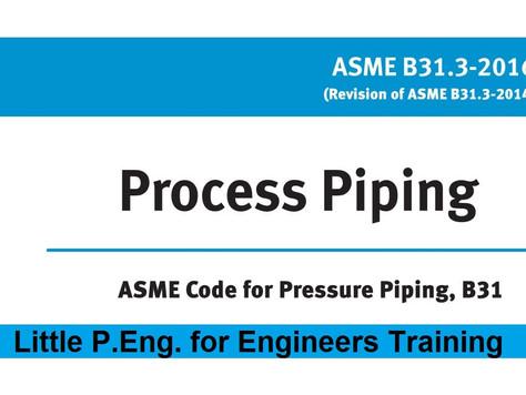 Process Piping ASME B31.3 2016