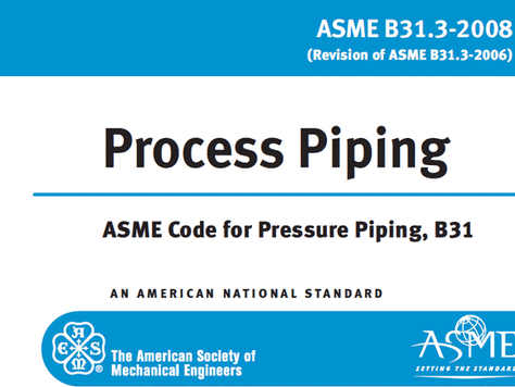 ASME B31.3 Introduction to Process Piping Design and Canadian Regulations
