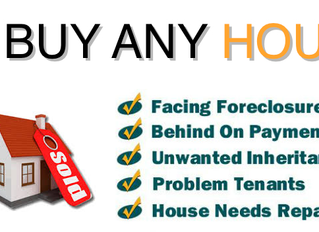 Sell Your House Fast. Start Your Own Economic Stimulus Package