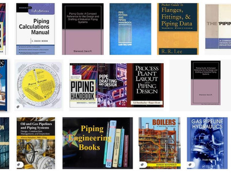 Piping Reference Books for Good Piping Stress Engineers