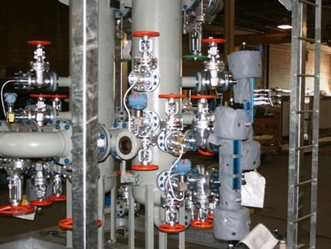 Skid design specialized in piping stress analysis and structural design across Canada (Ontario, Albe