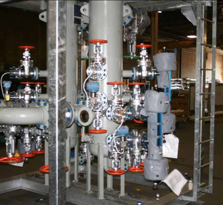 Skid design specialized in piping stress analysis and structural design across Canada (Ontario, Alberta, British Columbia & Saskatchewan)