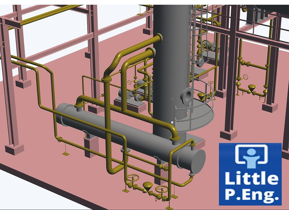 Computational Pipe Stress Analysis using CAESAR II by meena rezkallah, p.eng., the best piping stress engineer & professional engineer in calgary alberta canada. pipe stress analysis services.