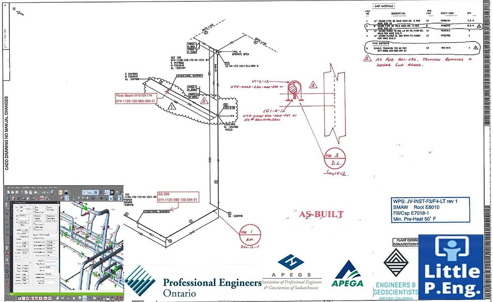 CAESAR II Pipe Stress Analysis Services Engineering Company served by meena rezkallah, p.eng. the best piping stress engineer and structural engineer across canada (alberta, ontario, british columbia, saskatchewan)
