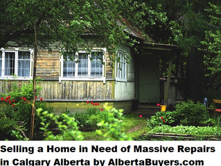 Selling a Home in Need of Massive Repairs in Calgary Alberta