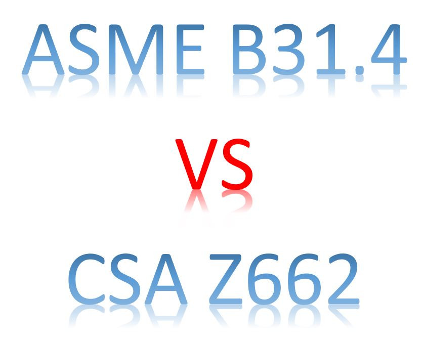 ASME B31.4 VS CSA Z662 by Meena Rezkallah, P.Eng. for engineering Services across canada and USA.