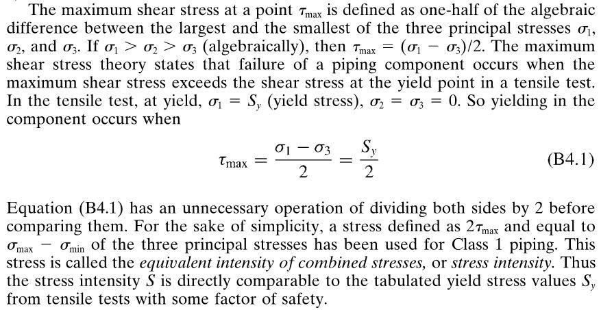 Maximum shear stress at pipe