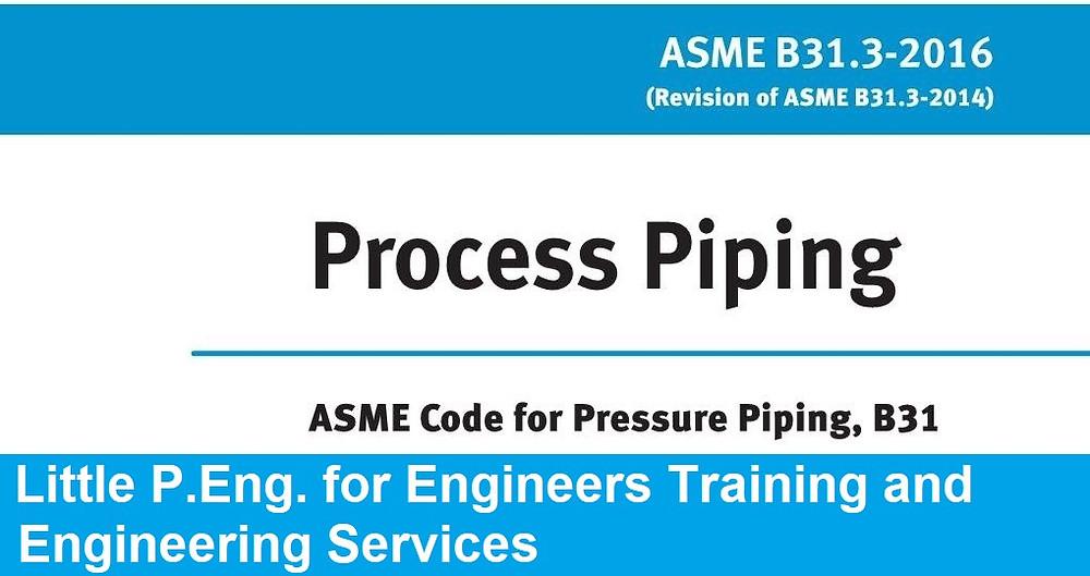 ASME B31.3 Design Criteria For Thermal Stress | Calgary, AB