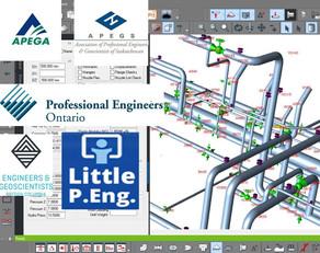 Meena Development LTD. for Piping Stress Analysis Services across Canada (Alberta, Ontario, British