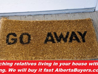 Mooching relatives living in your house without paying?